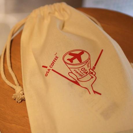 1周年限定オリジナル巾着《OSA COFFEE》