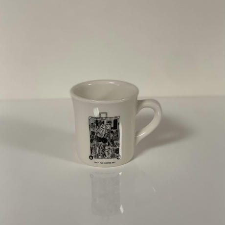 3レター ニシクボサユリ コラボマグカップ