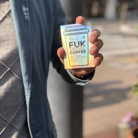 【2周年記念】FUK ホログラムステッカー