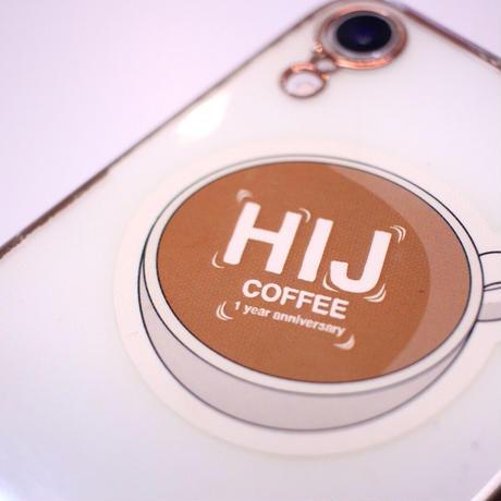 HIJ 1周年記念オリジナルステッカー