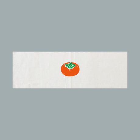 柿のマルシェバッグと手ぬぐいSET