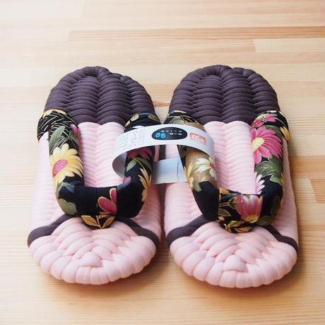 ふっくら布ぞうり/和華:ピンク 25〜28cm