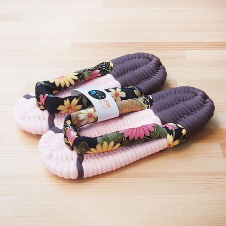 ふっくら布ぞうり/和華:ピンク 17〜24cm