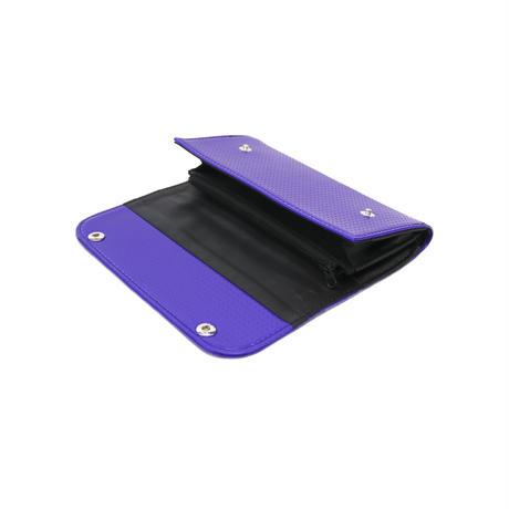 [WEB LIMITED] M070 長財布 ダブルフラップ / ブルー