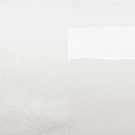 M026 折財布 / エナメルホワイト