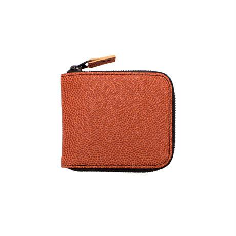 M026 折財布 / ブラウン