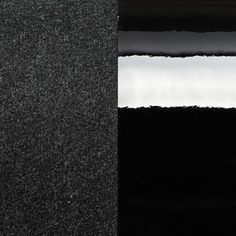 M057  IDカードケース / エナメルブラック