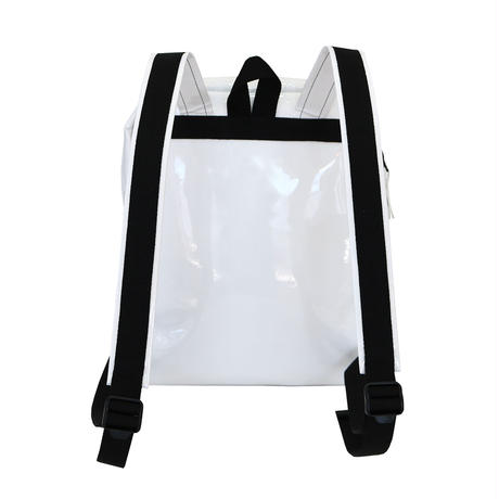 058 DAYPACK _white×black