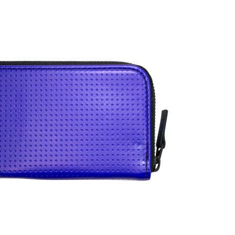 M025  ラウンド長財布 / ブルー