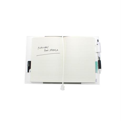 M083  ノートカバーB6 / ホワイト