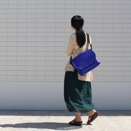 M003  メッセンジャーバッグ / ブルー