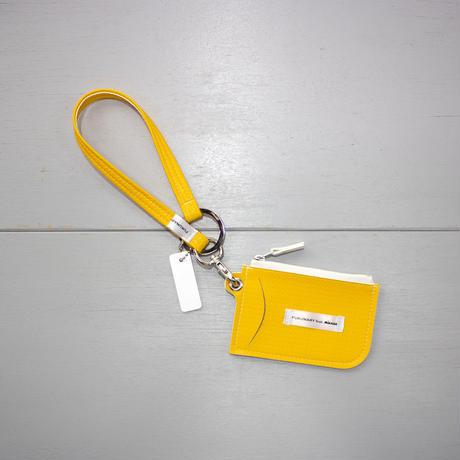 M078 ネームカード用ストラップS / イエロー