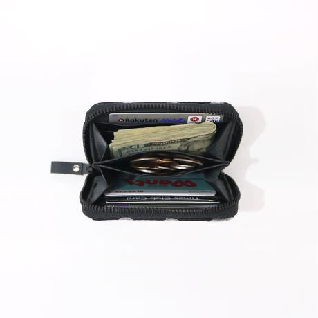 12 ミニマム財布 KUROGIN ドット