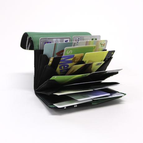 B01 はちのす (カードケース) 紫野×みどり