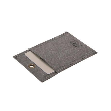 RL002 パスケース / リサイクルレザー チャコール