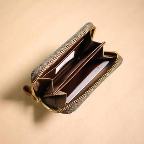 W15 ミニマム財布 / カーキ