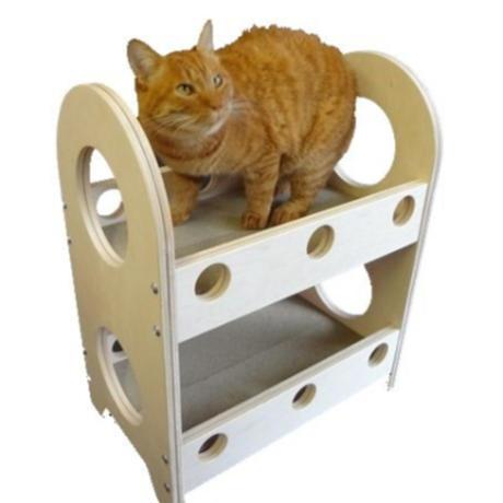 爪とぎ猫ベッド 2段タイプ