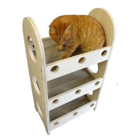爪とぎ猫ベッド 3段タイプ