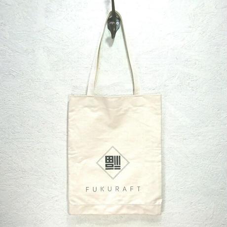 FUKURAFT / Japanese Canvas FLAT TOTE BAG (FR-0010)