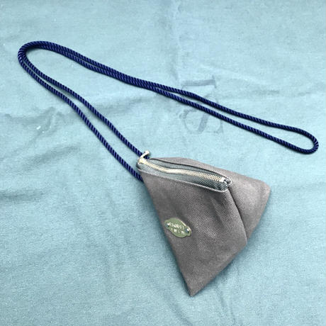 FUKURAFT / Japanese Canvas Triangle Shoulder Bag  / KHA (FR-0006)