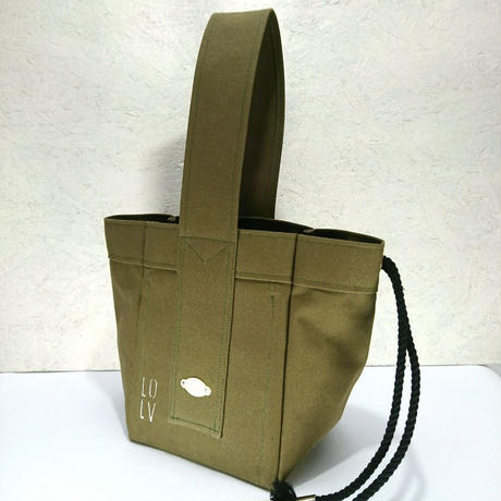 FUKURAFT / Japanese Canvas Tote Bag -S / KHA (FR- 0011)