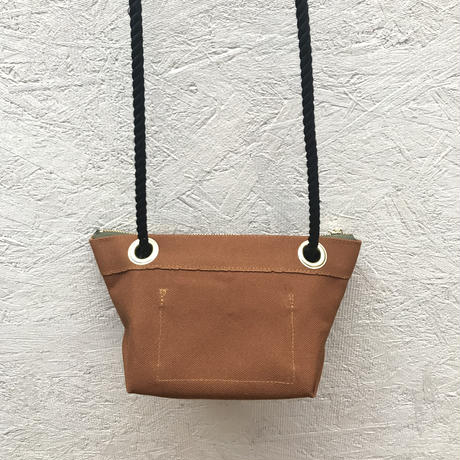 FUKURAFT / Japanese Canvas Shoulder Bag / CAM (FR-0007)