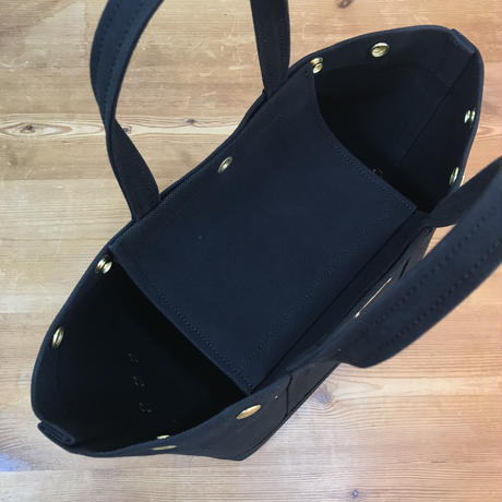 Japanese Canvas / Tote Bag / CAR-GO 25 / Black