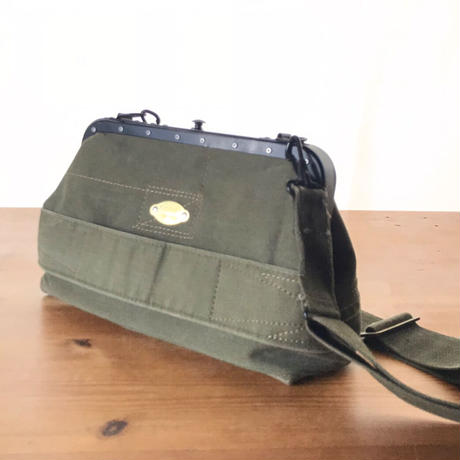 【T様専用】US Military Used Fabric Conductor Shoulder/車掌バッグ