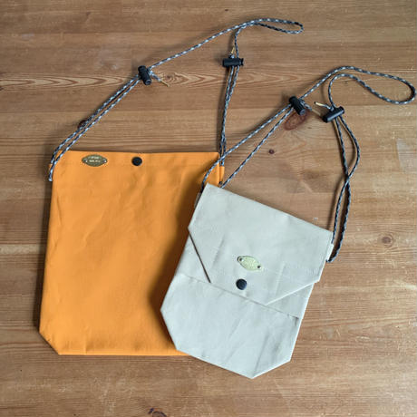 【For Ms. Michelle】SET of Japanese Canvas Shoulder Bags