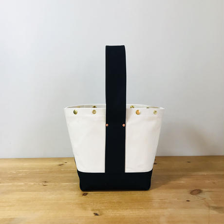 Japanese Canvas  BUCKET (FR-0100) / Black x White