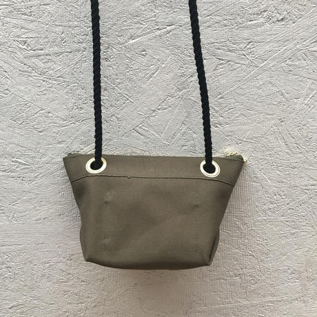 FUKURAFT / Japanese Canvas Shoulder Bag / KHA (FR-0007)