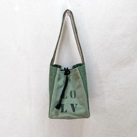 FUKURAFT / US Military Used Fabric Tote Bag -S (FR-0015)
