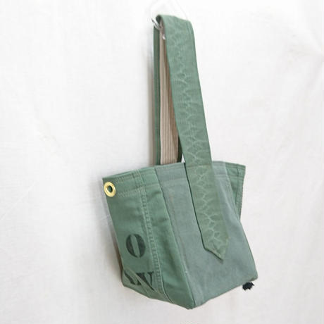 FUKURAFT / US Military Used Fabric Tote Bag -S (FR-0014)