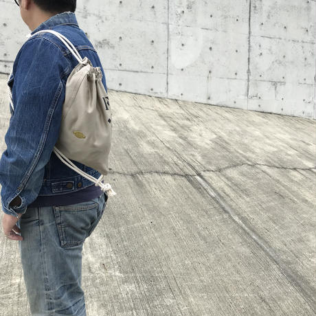 FUKURAFT / チノクロス 3ways 巾着バッグ (FM_CH_0007)