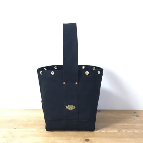 Japanese Canvas / Tote Bag / BUCKET (FR-0100) / Black