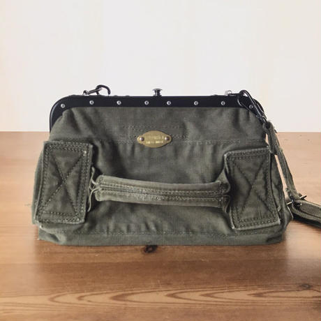 【S様専用】US Military Used Fabric Conductor Shoulder/車掌バッグ