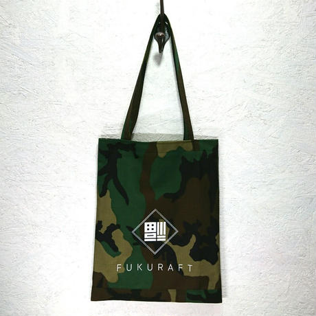FUKURAFT / US Military Cotton FLAT TOTE BAG (FR-0009)
