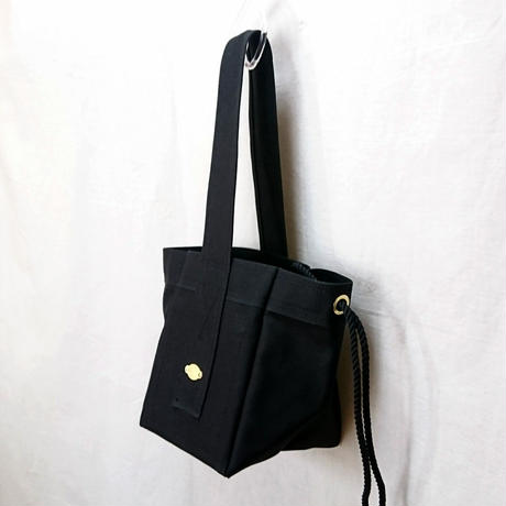 FUKURAFT / Japanese Canvas Tote Bag -S / BLK (FR- 0032)