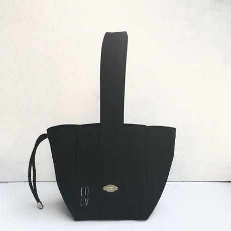 FUKURAFT / Japanese Canvas Tote Bag  (S) BLK