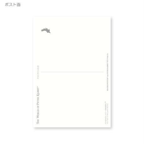 ピーターラビット ポストカード(たたずむピーター)