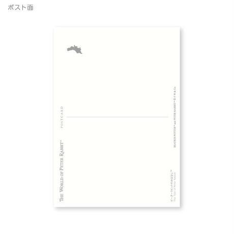 ピーターラビット ポストカード(ピーターの食事)