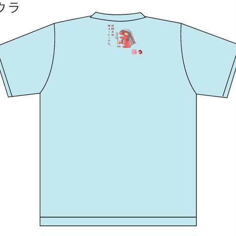 ガジロウさん Tシャツ~でんぐりがえり~