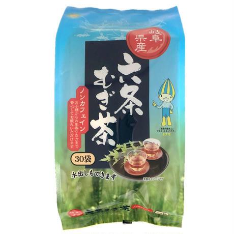 岐阜県産六条麦茶ティーバッグ 30袋