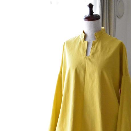 ゆったりプルオーバーシャツ【受注生産】