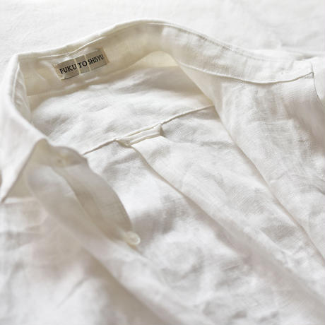 くったり大きなリネンシャツ