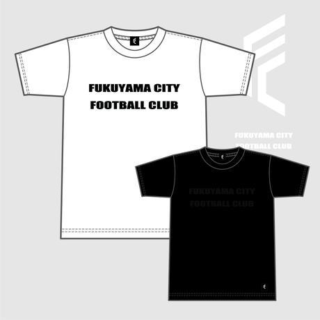 F.C.F.C. FOOTBALL Tシャツ(ホワイト / ブラック)