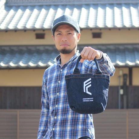 F.C.F.C.×篠原テキスタイル / ミニトートバッグ(福山デニム)
