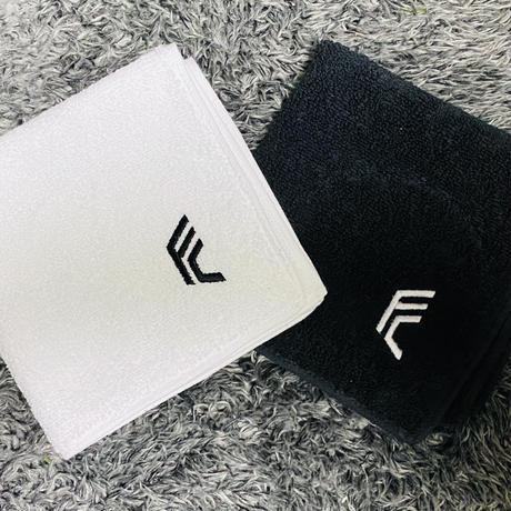 F.C.F.C.今治製ハンドタオル(ブラック / ホワイト)