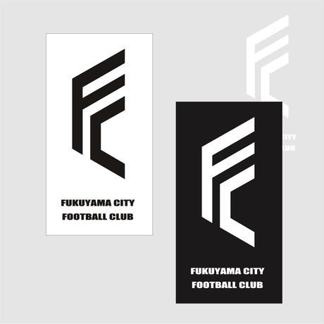 F.C.F.C.カッティングステッカー(ブラック / ホワイト)