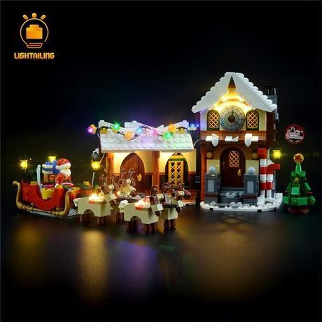 レゴ 10245 サンタのワークショップ ライトアップセット [LEDライトキット+バッテリーボックス]